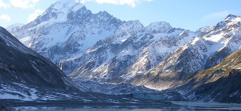 Meghalt egy magyar mászó Új-Zélandon