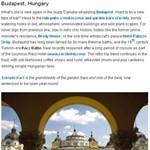 Felkerült Budapest a Lonely Planet toplistájára