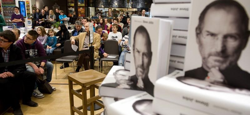 Mostantól kapható magyarul Steve Jobs életrajza