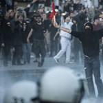 G20: Egész nap állt a bál Hamburgban, 160 rendőr sérült meg