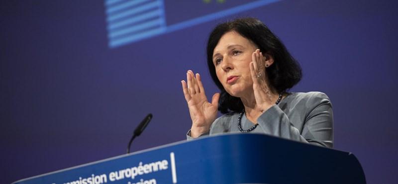"Vera Jourová: ""Sosem bántottam a magyar embereket"""