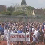 Figyelmeztető sztrájkot tartottak ma a Chinoinban