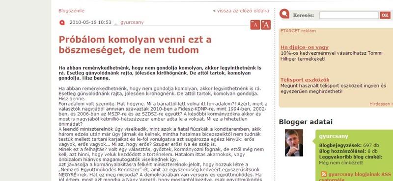 Gyurcsány: mi az, hogy Orbán nem illetékes IMF-ügyben?
