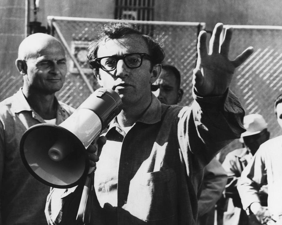 afp.1969. - Woody Allen a Fogd a pénzt és fuss! (1969) című filmben - nagyítás