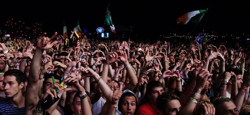 Közel 20-an sérültek meg a Sziget tegnap esti koncertjén