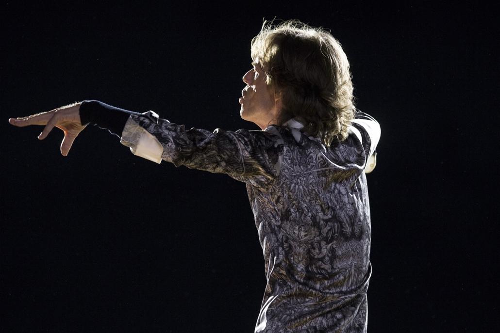 afp. Mick Jagger, Rolling Stones, Norvégia 2014.05.26.