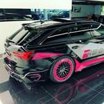 Kis rózsaszínnel puhítottak a 740 lóerős Audi RS6-on
