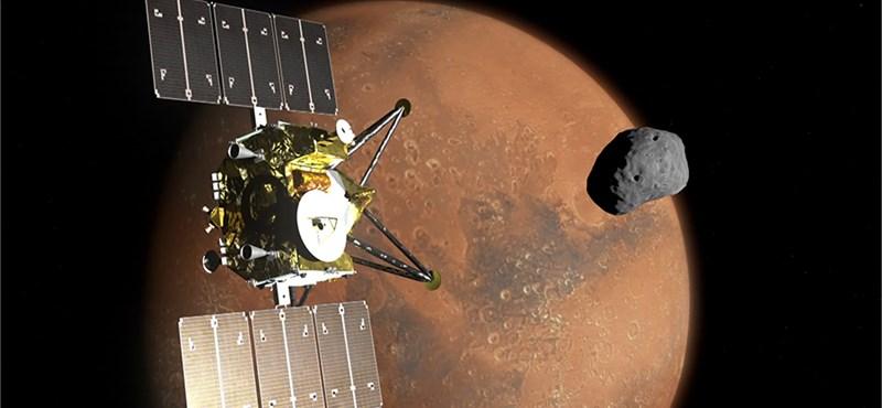 8K-s videót készítenének a japánok a Marsról, a televízió meg közvetítené