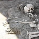 Gyerekcsontvázat találtak Pompeiben