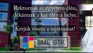 Fórumot tartanak az elcsatolásról a GTK hallgatói a BME-n