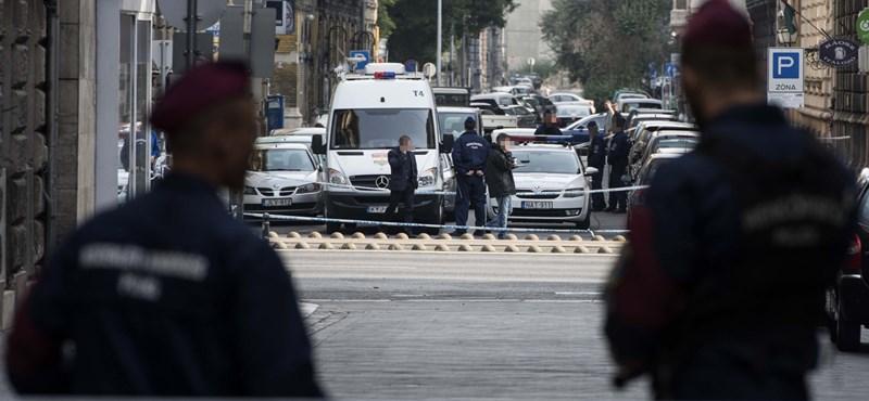 Körúti robbantás: stabil a sérült rendőrök állapota