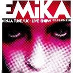 Emika, a Ninja Tune szexi üdvöskéje ma este az A38-on