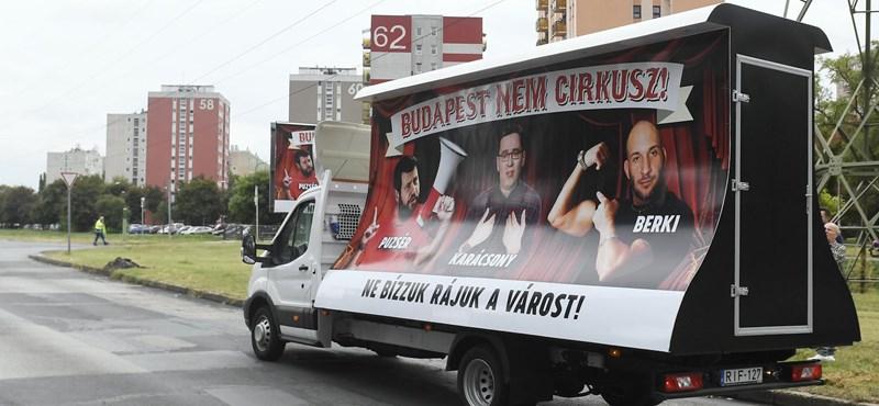 Plakátkampányban szapulja Tarlós ellenfeleit a Fidelitas