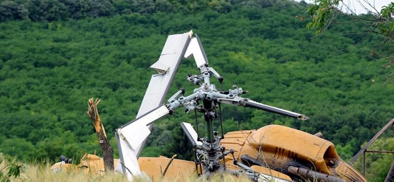 Harci helikopter zuhant le Oroszországban