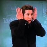 Az online értékelései alapján ön elfogadná tanárának Ross Gellert?