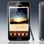 Kipróbáltuk: Samsung Galaxy Note