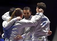 Drámai végjáték után ezüstérmes a magyar kardválogatott a budapesti vébén