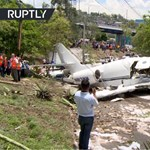 Lezuhant egy utasszállító repülő Hondurasban