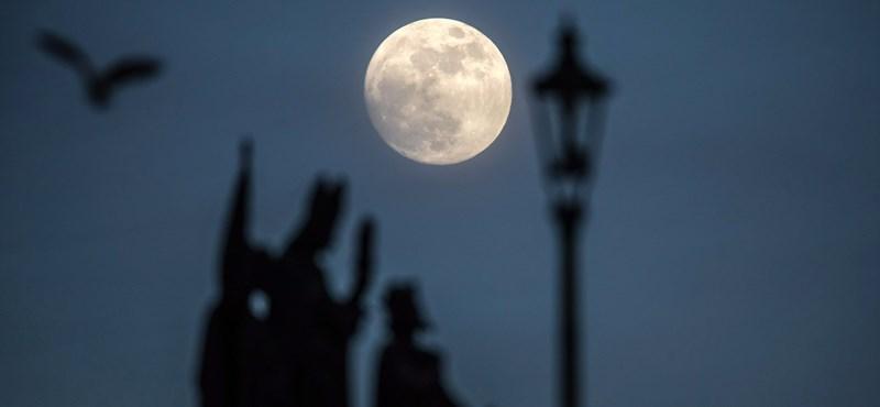 Már a Holdon építkezne az Európai Ürügynökség