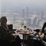 Így néz ki a világ legmagasabban fekvő étterme
