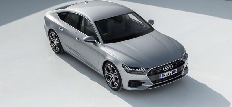Itt az új Audi A7 - van mit nézni rajta