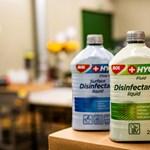 110 ezer liter fertőtlenítőszert szállított ki a Mol