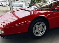 Tényleg csak 180 km van ebben az eladó 1989-es Ferrari Testarossában