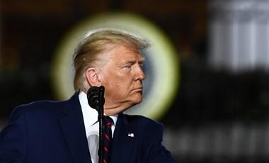"""Trump: """"Biden Amerikájában senki nem lesz biztonságban"""""""
