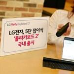 Még sokoldalúbb lett az LG zsebben hordható billentyűzete