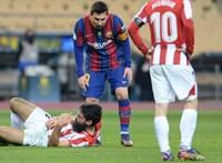 Messit mindössze két meccsre tiltották el