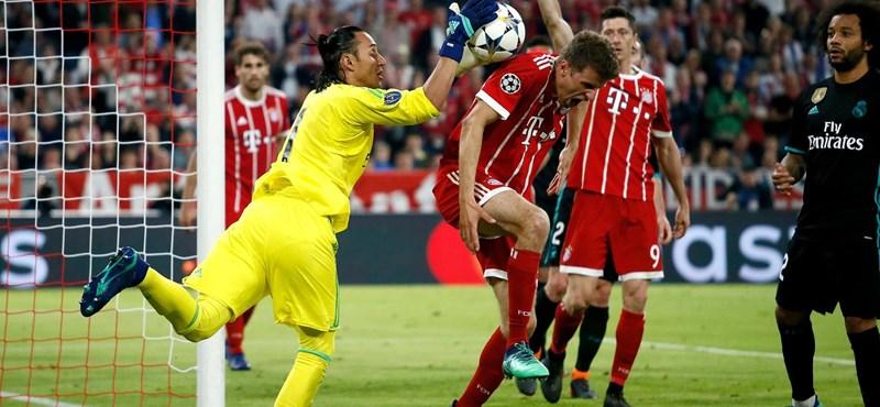 Otthon verte a Bayernt, lépéselőnyben a Real