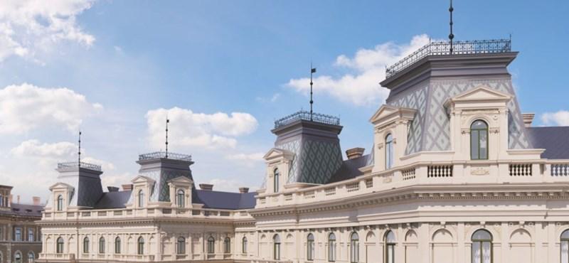 Visszakapja két lebombázott tornyát a Hübner-udvar a Kodály köröndön – fotók
