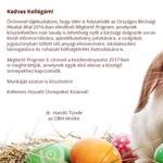 Idén már 25 ezres utalványt hoz a bíróságokon a húsvéti nyúl