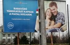 Breaking: Brüsszelbe ment a fiatal pár a kormány plakátjairól