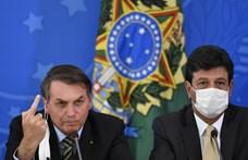 A Covid-19-hez hasonló tünetei voltak a brazil elnöknek
