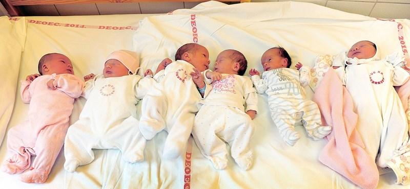 Budapesten három kórházban minden második gyerek császárral születik