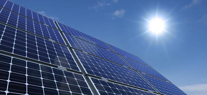 Negatív árig jutott a brit napenergia