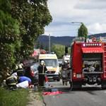 Meghalt egy autós Piliscsabánál