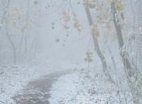 Megérkezett a havazás, bekeményít a tél