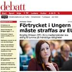 Szijjártó: Hazudott az Orbán-kormányt bíráló svéd miniszter