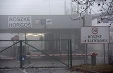 Menekültek miatt adtak le figyelmeztető lövést Röszkén
