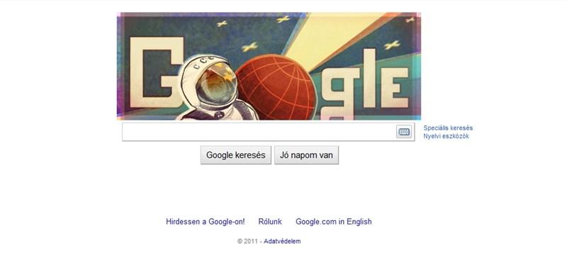 Gagarin űrutazására emlékezik a Google