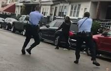 Nem dobta el a kést, agyonlőttek egy fekete férfit a rendőrök Philadelphiában