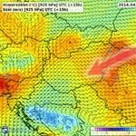 Különleges jelenség hoz meleget Magyarország fölé - térképek