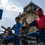 Amikor a bringások elfoglalják a Fővárost