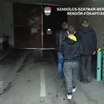 Így viszik a rendőrök a nyíregyházi autótolvajokat - videó