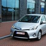 Vezettük a hibrid Toyota Yarist