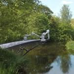 Örömlányoknak épül az első valódi nyomtatott híd