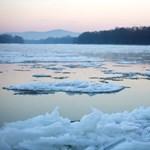 Fertő tó: jég van, de el kell felejteni a korcsolyázást