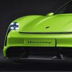 Még sportosabbá teszik a 761 lóerős Porsche Taycan villanyautót